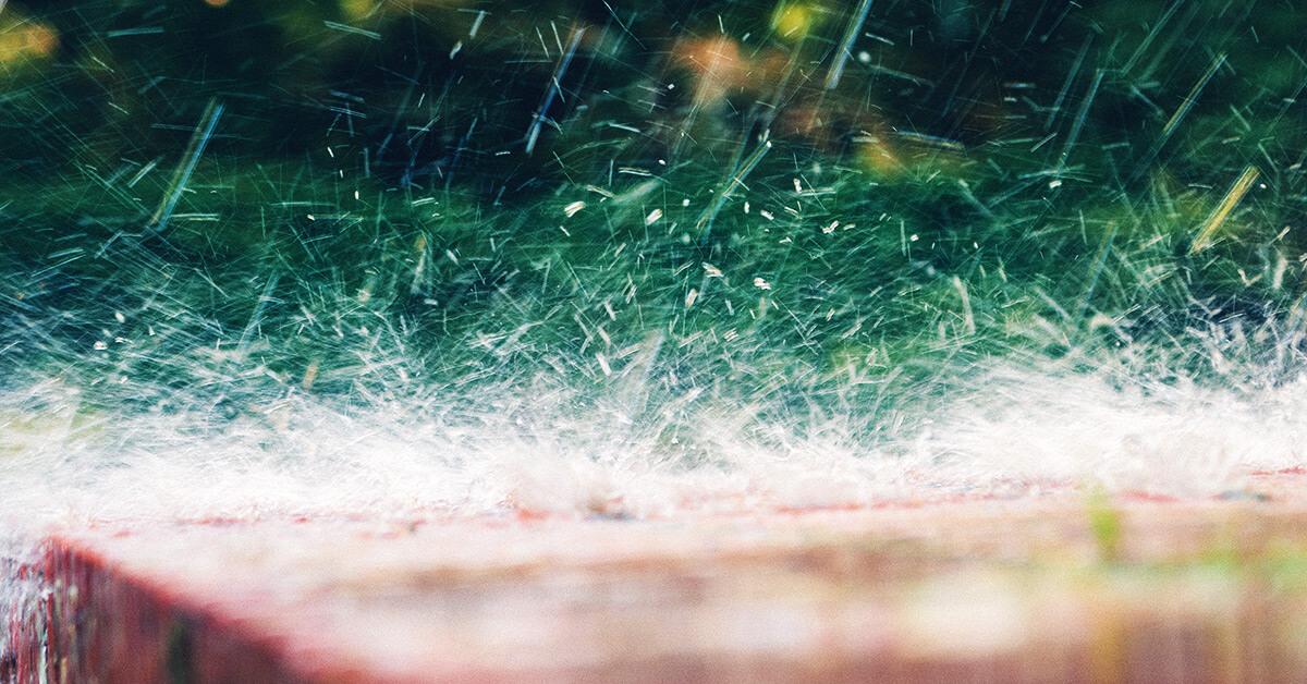 starker Regen © unsplash