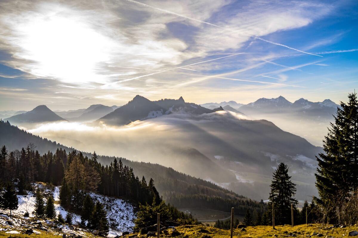 Nebelige Landschaft ©pixabay.com