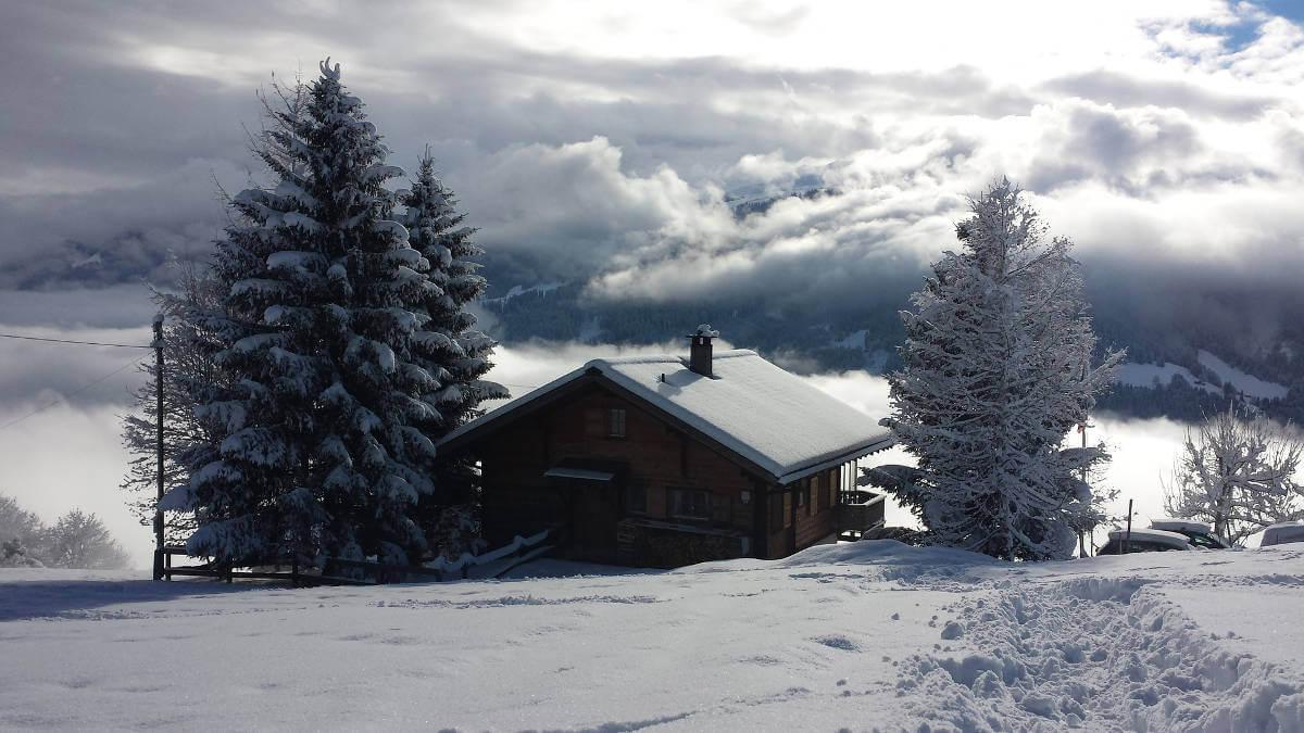 Winterliche Schweiz pixabay