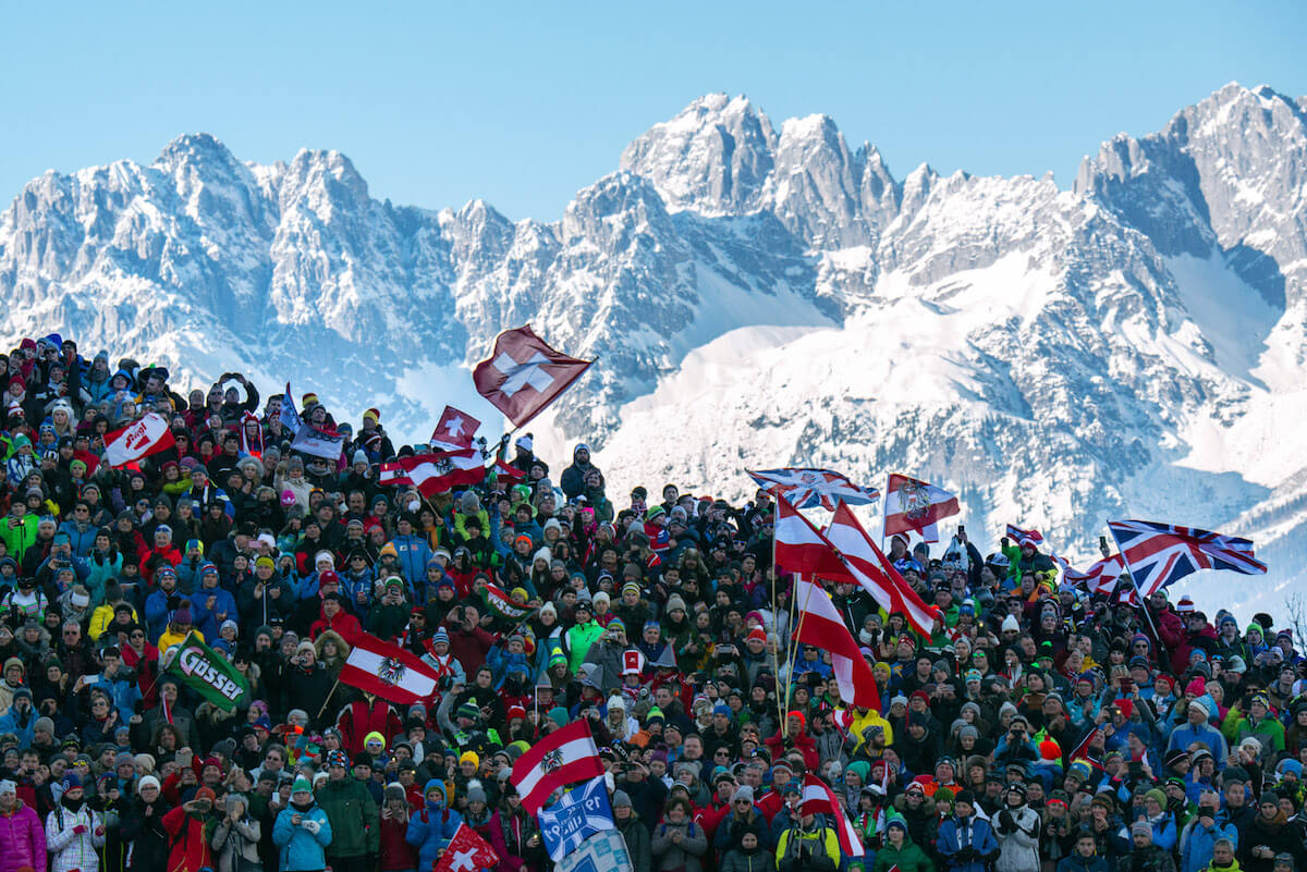 Kitzbühel Hahnenkammrennen. @Michael Werlberger/Kitzbühel Tourismus