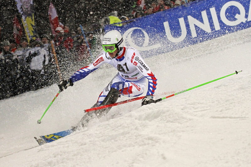Nightrace in Schladming. @OK Weltcup Alpin Schladming - Raffalt/Huber