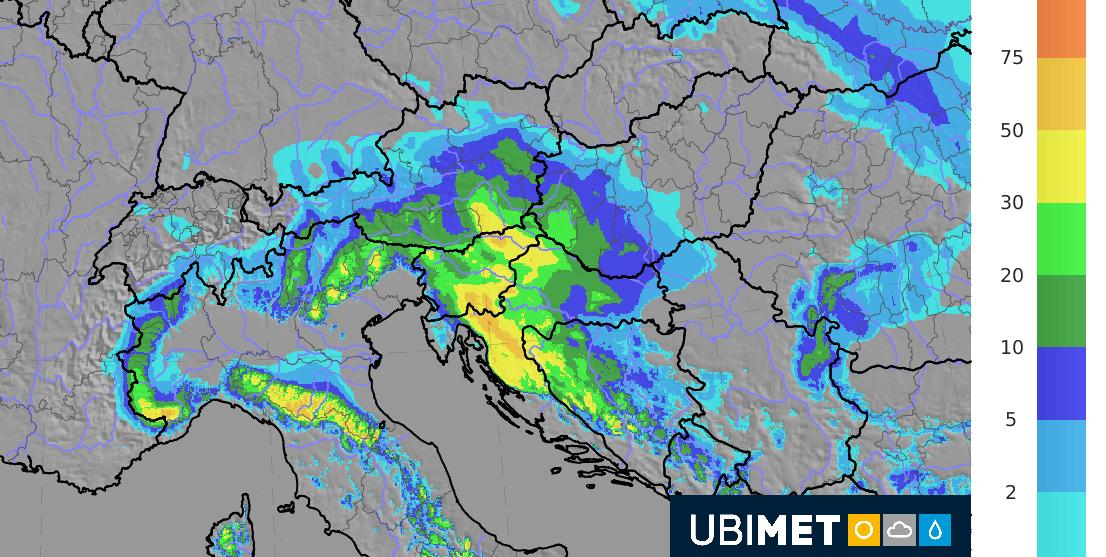 48h-Neuschneehöe am Donnerstag und Freitag. © UBIMET