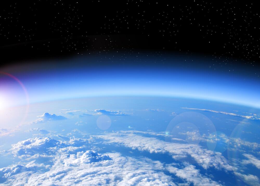 Die Stratosphäre. © shutterstock