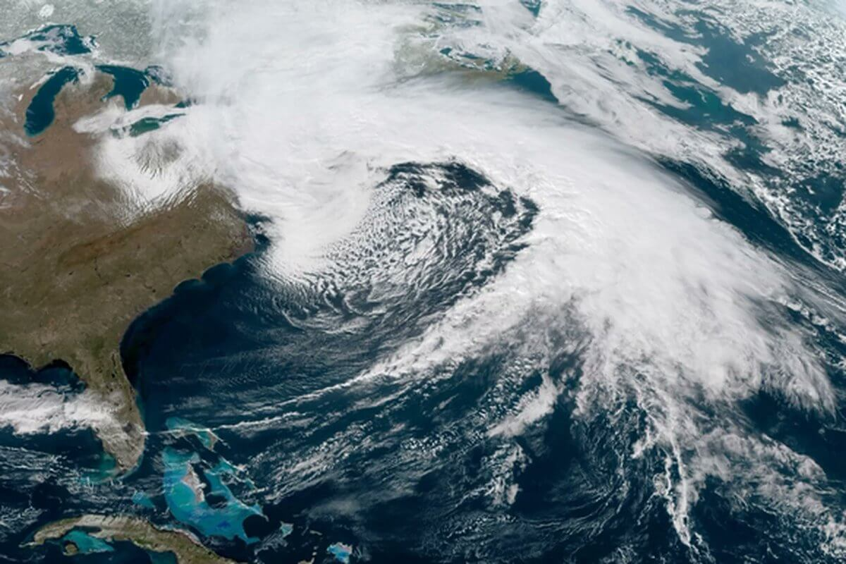 Wintersturm sucht den Nordosten der USA heim. ©twitter, @tveidtal