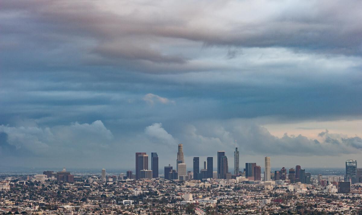 L.A. im Regen ©J.Dennis