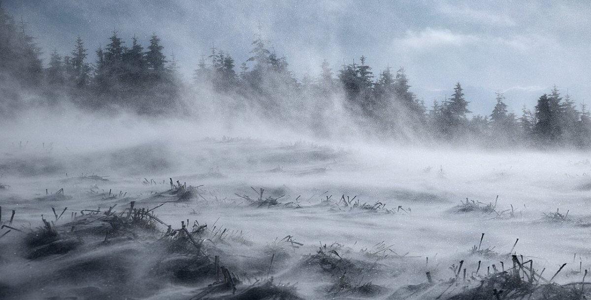Schneeverwehungen ©pixabay/JerzyGorecki