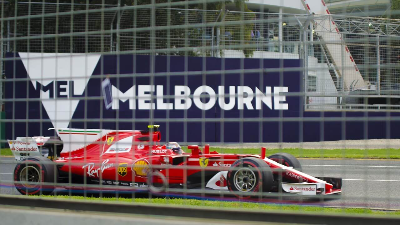 Die Formel 1 gastiert in Australien © pixabay