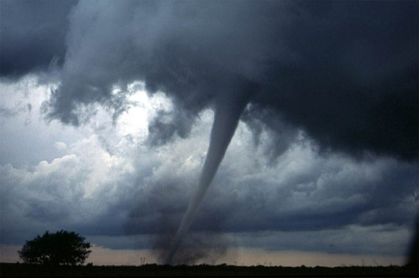 Tornado nahe Neapel