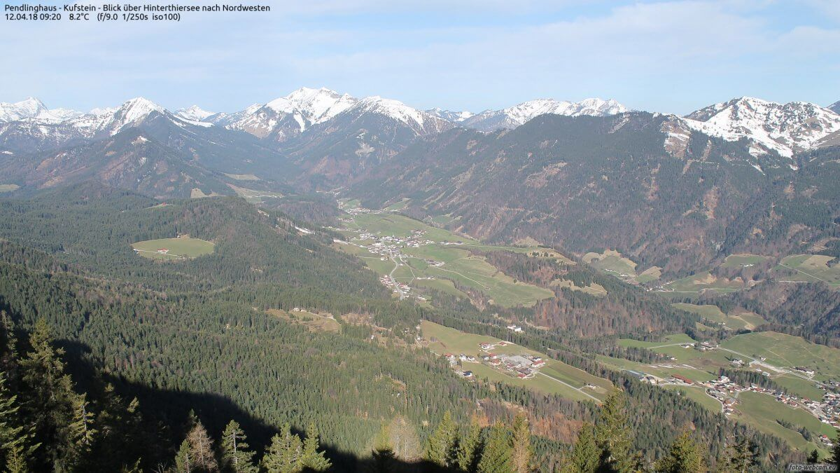 Frühling in den Brandenberger Alpen in Tirol © https://www.foto-webcam.eu/webcam/pendling-west/