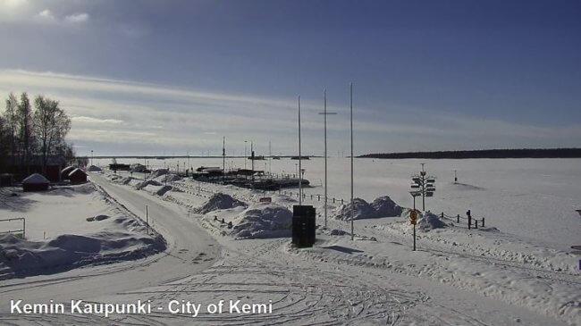 Kemi an der finnischen Ostee © webcamstravel