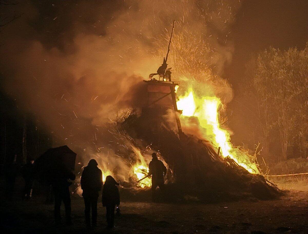 Feuer zur Walpurgisnacht ©pixabay/Melmak