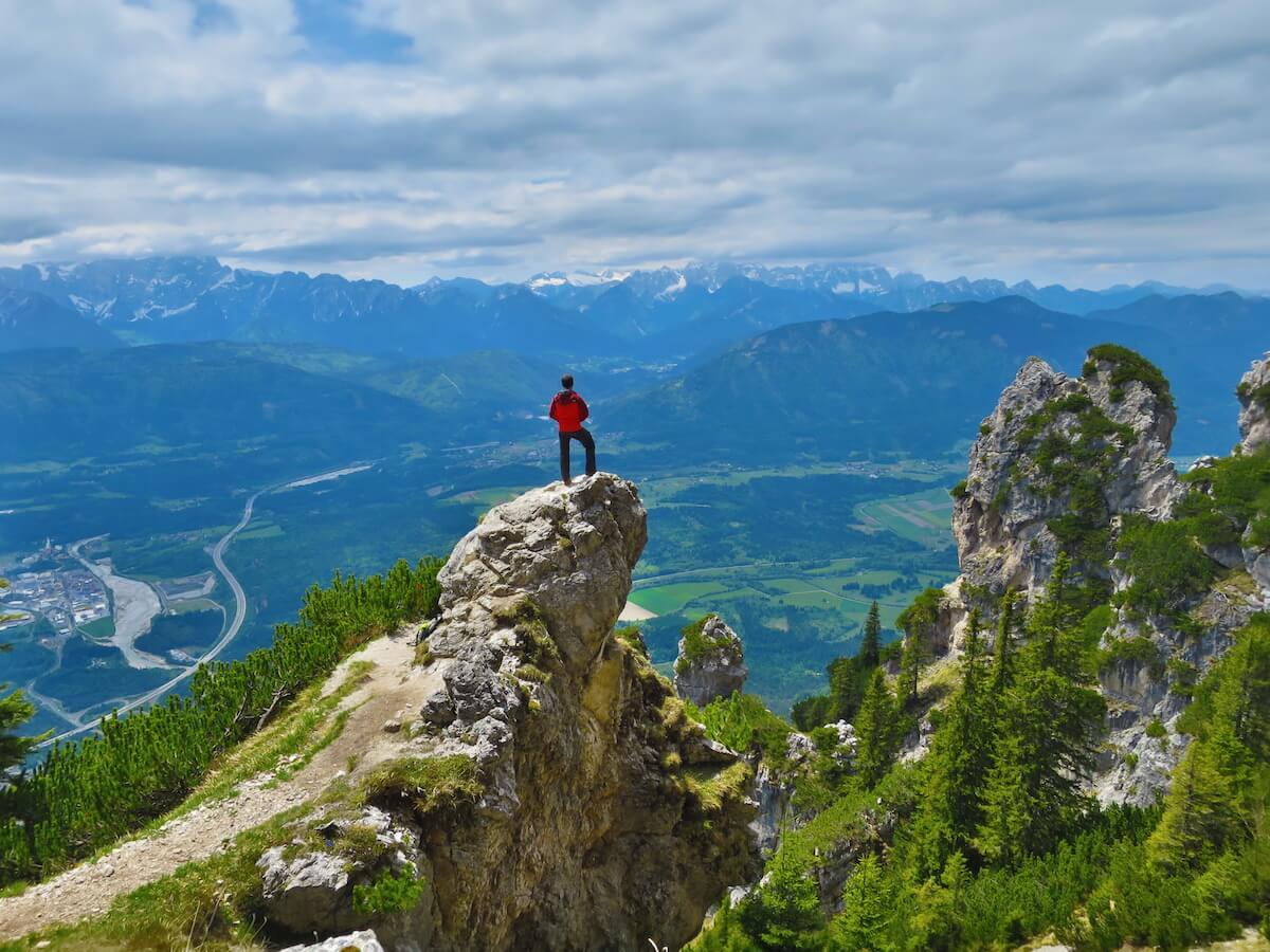 Jägersteig Dobratsch, © Österreichs Wanderdörfer Karmen Nahberger