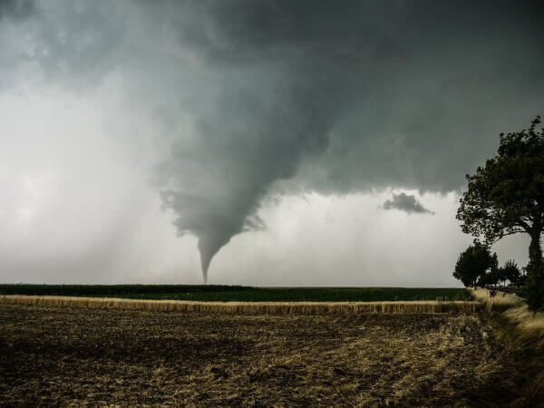 Tornado südlich von Wien © Stormhunters Austria