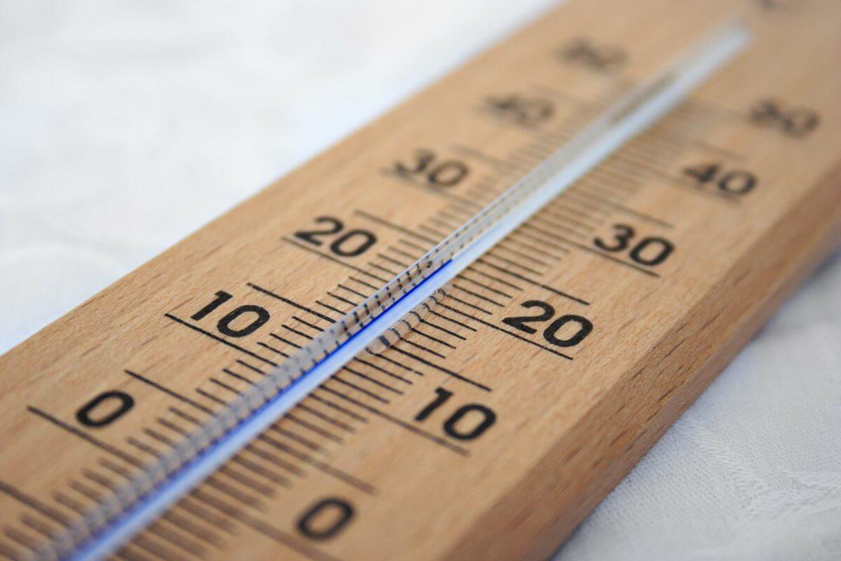 Das Thermometer zeigt einen Sommertag an © pixabay