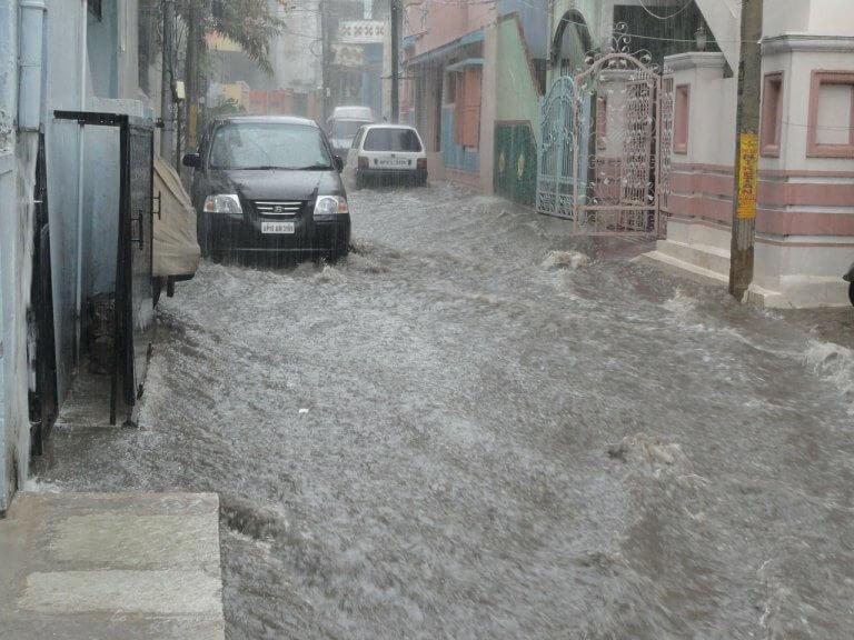 Flash Floods und Vermurungen