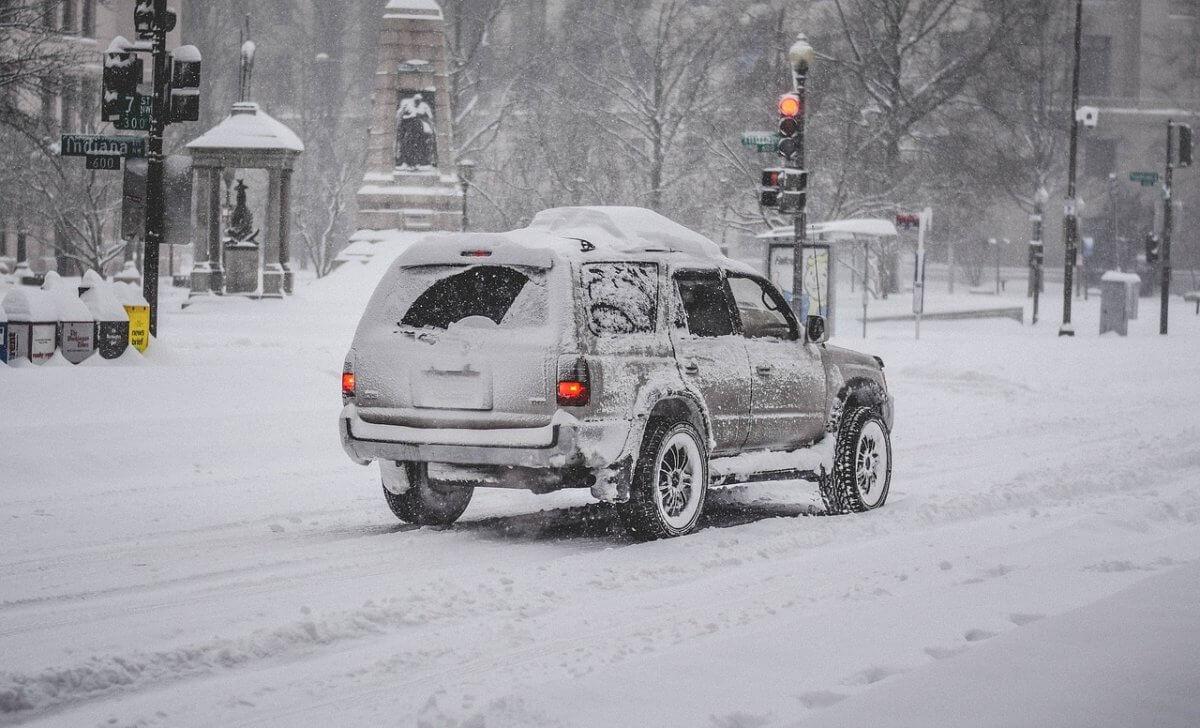 Schneesturm im Norden der USA © pixabay