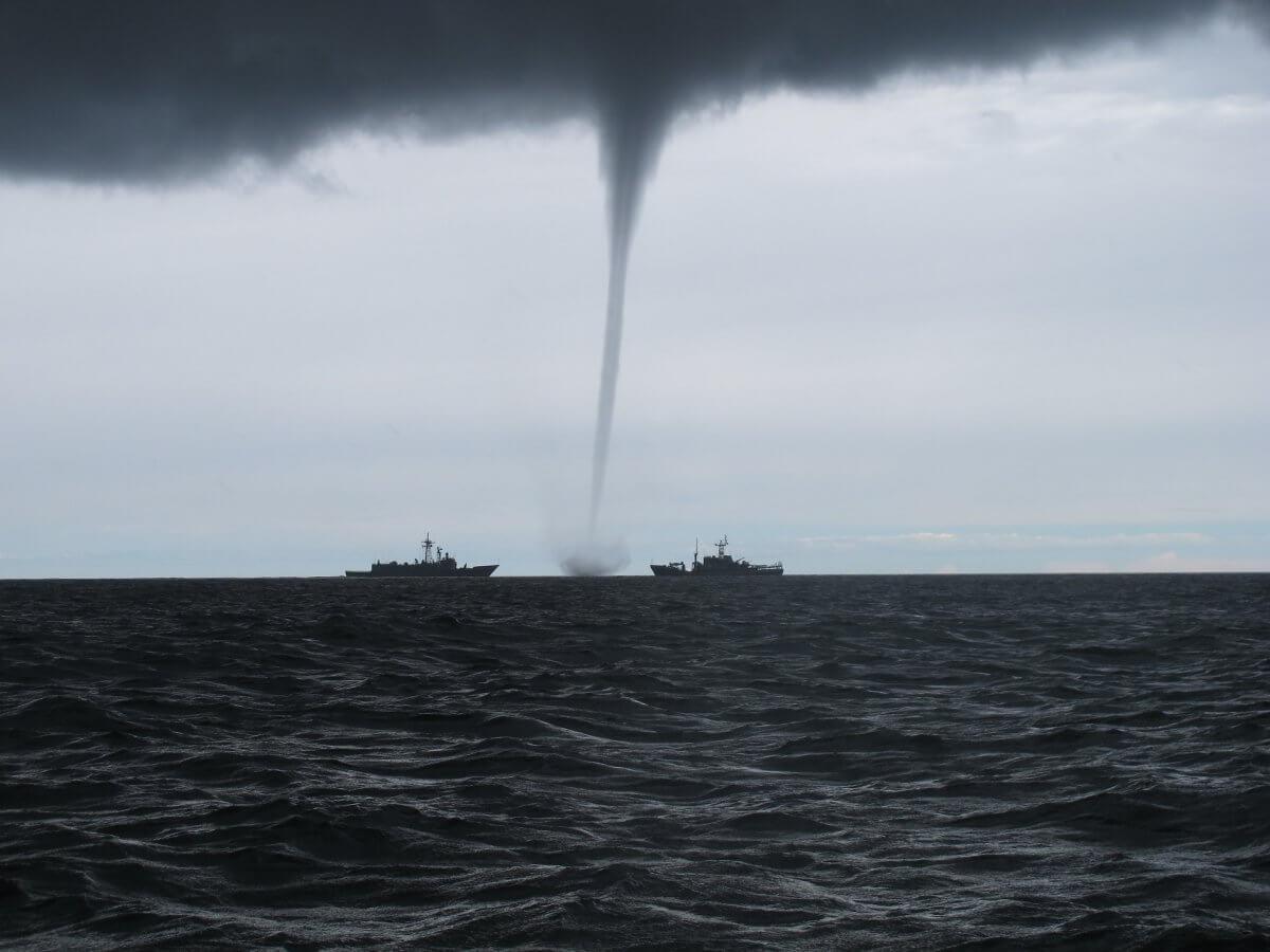 Wasserhose Tornado