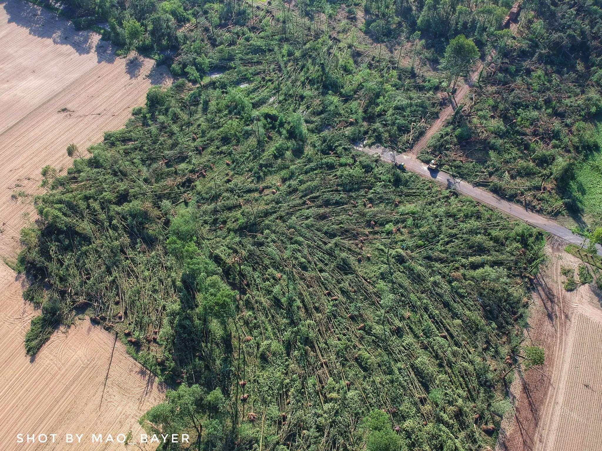 223 km/h – Tornado hat Wetterstation überquert