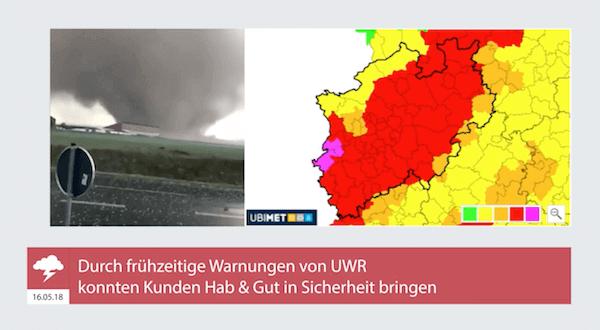 Tornado bei Viersen, 16.05.2018