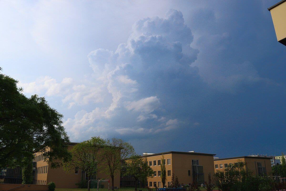 Quellwolke eines Gewitters © Nikolas Zimmermann