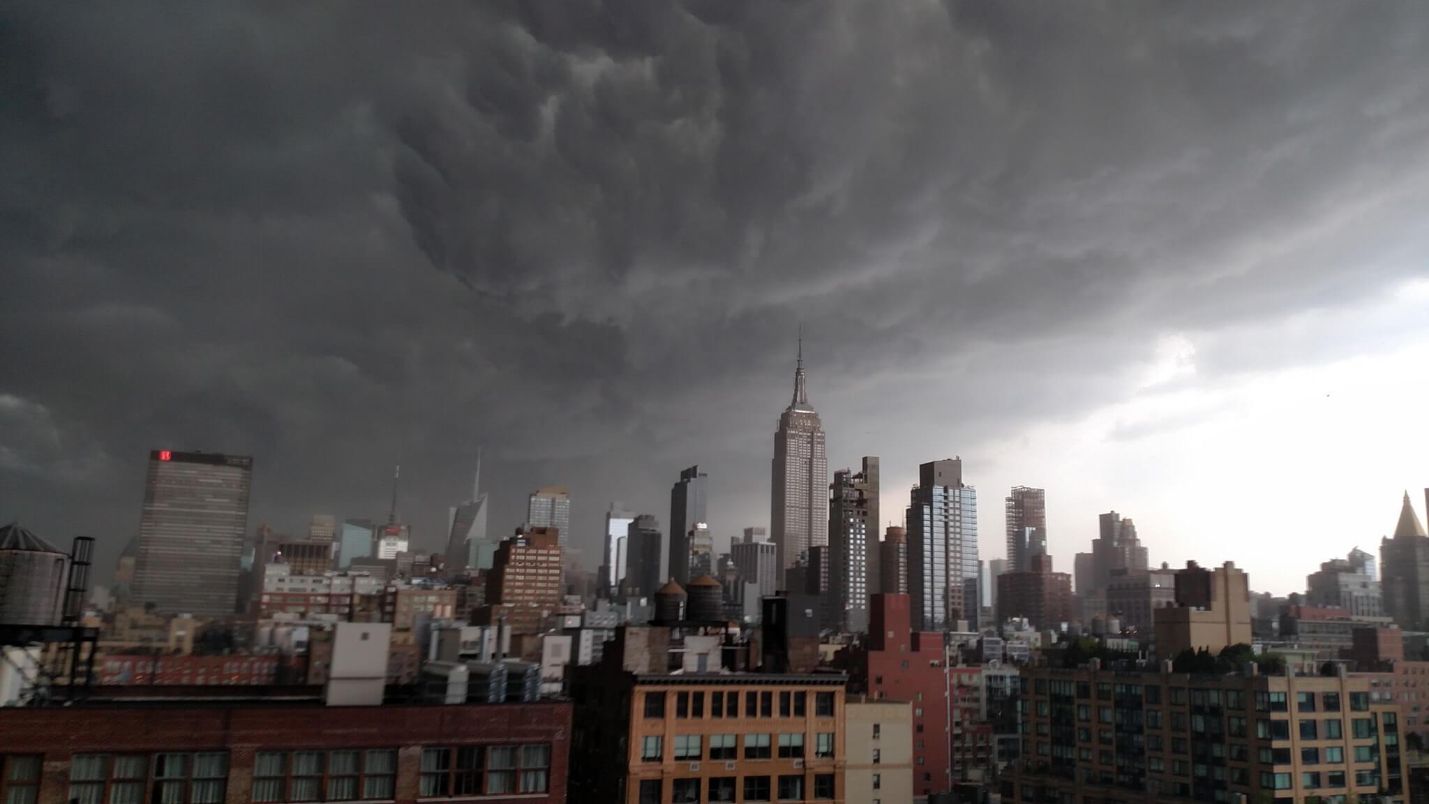 Gewitter über New York. © Erik Pindrock