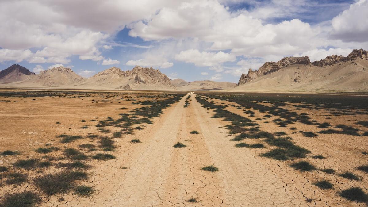 Wüstenlandschaft. @unsplash