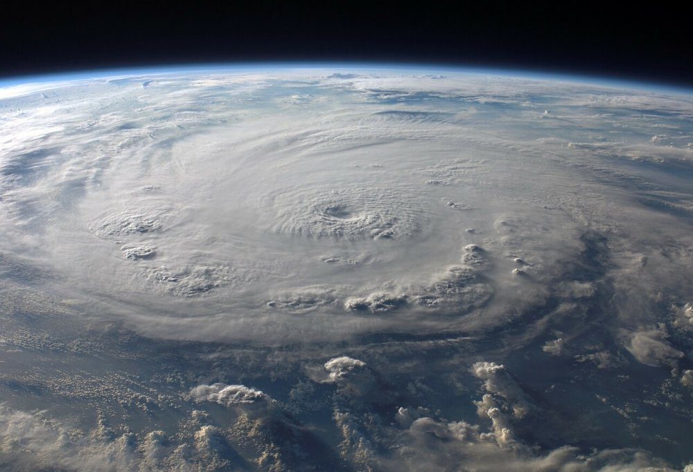 Ein Zyklon, beobachtet aus dem Weltall © pixabay