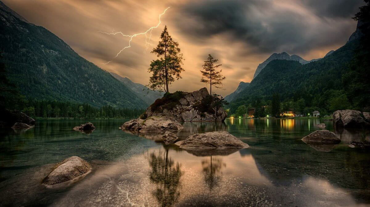 Gewitter in den Bergen. pixabay.com