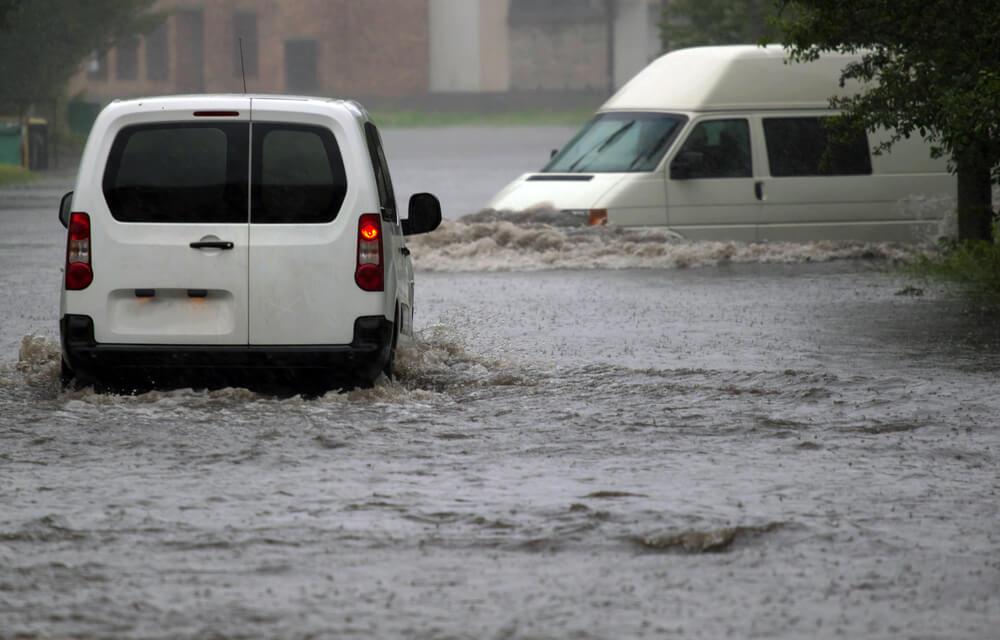Überschwemmung Starkregen