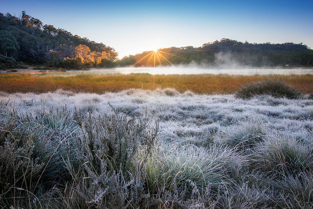 Frost in Australien