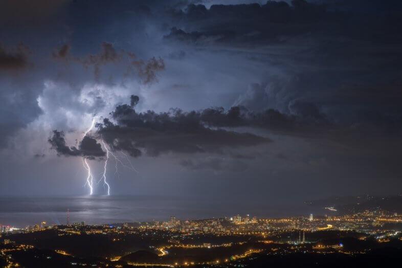 Blitz und Donner in Sotschi