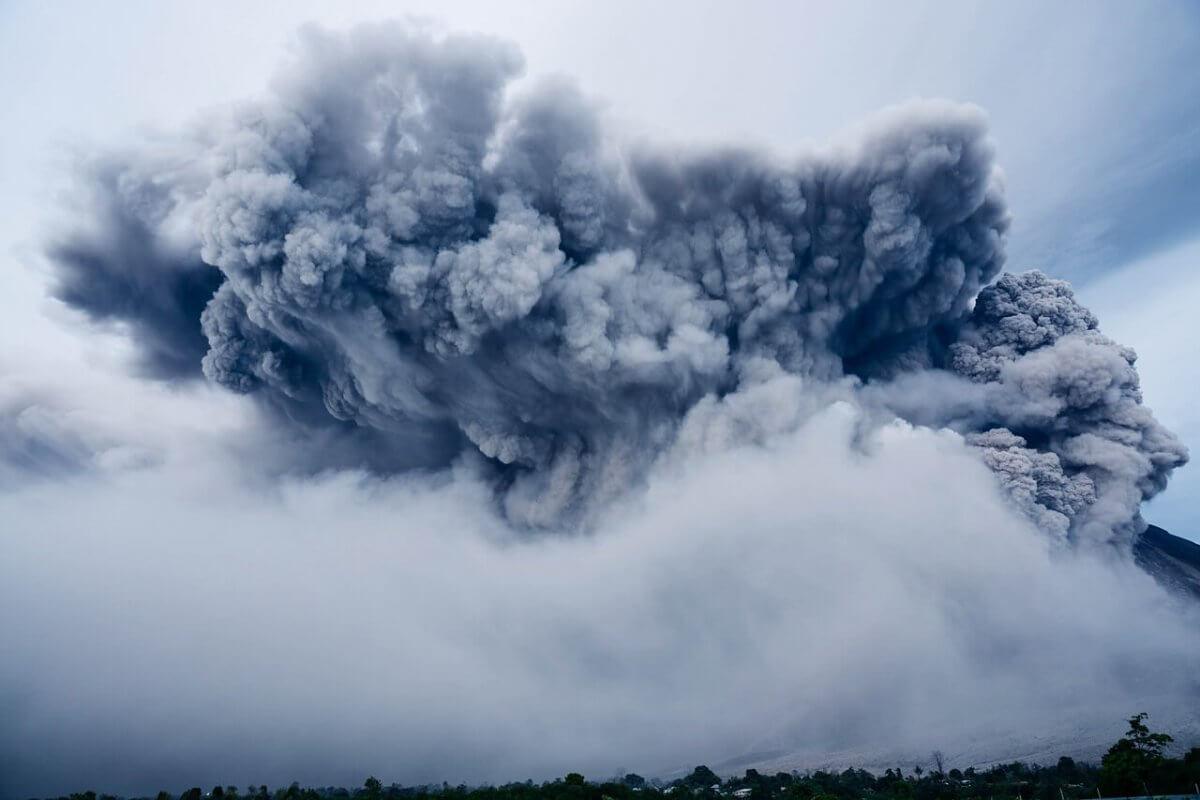 Vulkanausbruch ©pixabay