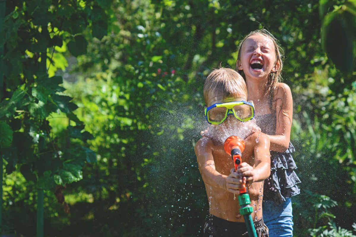 Wasser hilft gegen die Hitze
