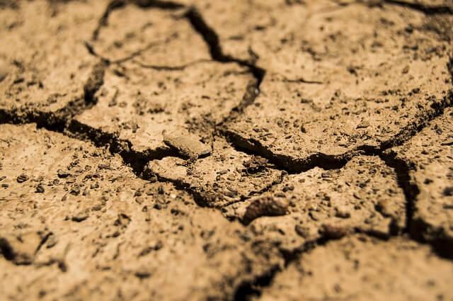 Große Trockenheit im Nordosten