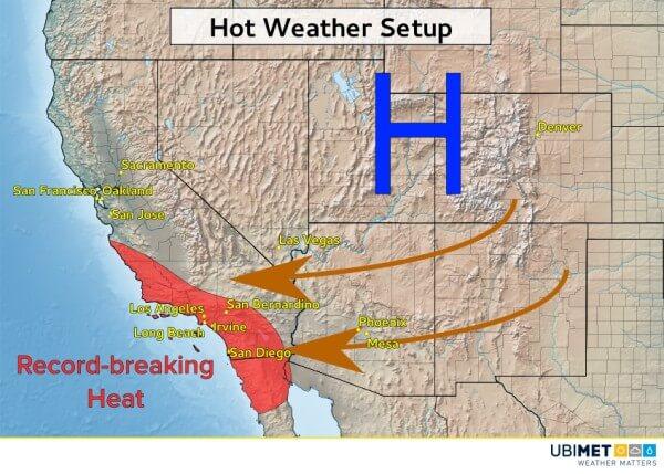 Mit föhnigem Ostwind wurden zahlreiche Hitzerekorde gebrochen.