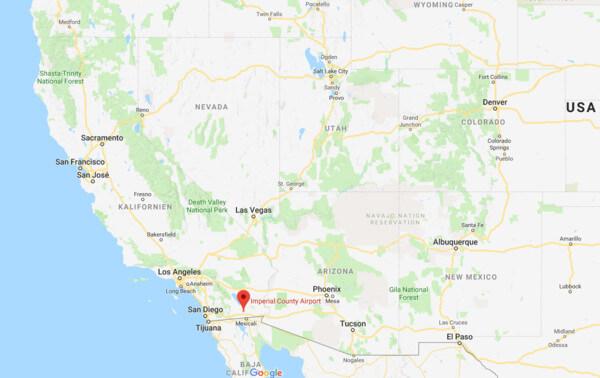 Ganz im Süden von Kalifornien liegt das Imperial County.