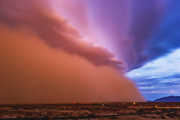 Staubsturm in Arizona