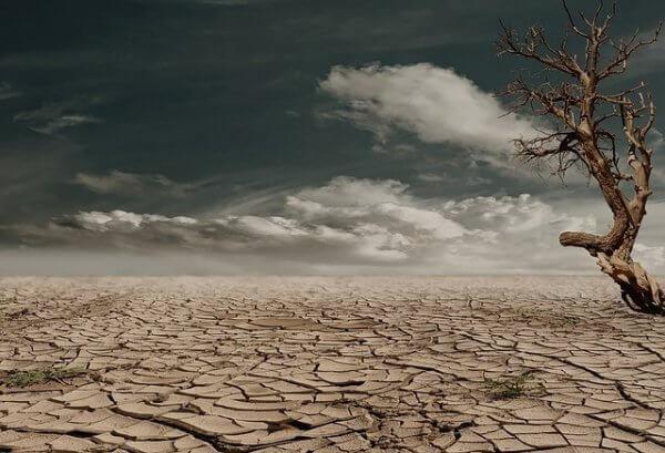 Dürre als Folge von Blocking-Lagen