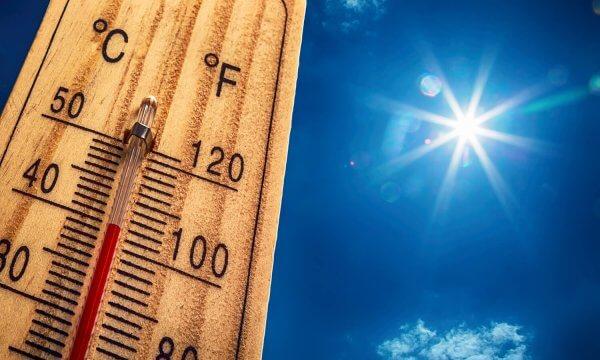 Es wird extrem heiß.