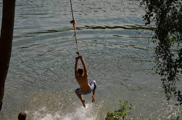 Wasser, See, Seetemperaturen