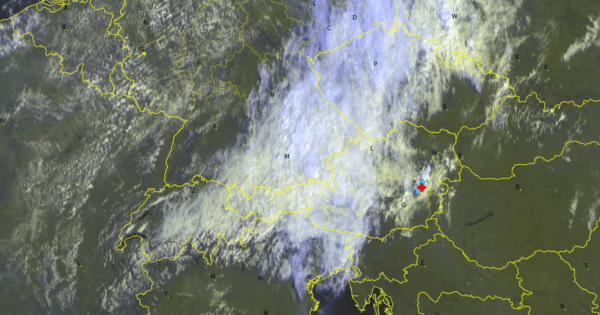 Aktuelles Satellitenbild
