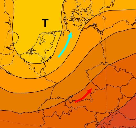 Das Nordseetief sorgt für kräftige Gewitter in Deutschland.