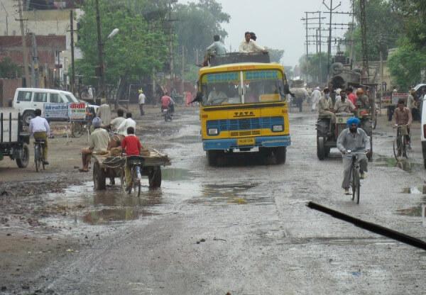 Der Monsun fällt in Kerala außergewöhnlich stark aus.