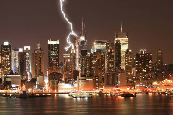 Gewitter in New York