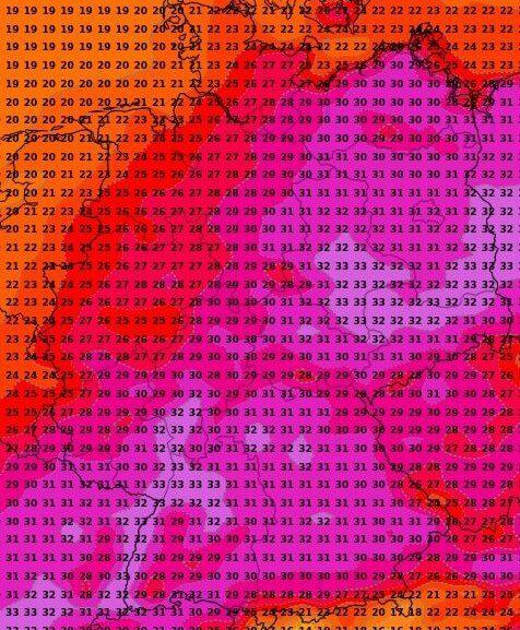 Besonders im Osten wird es nochmals heiß.