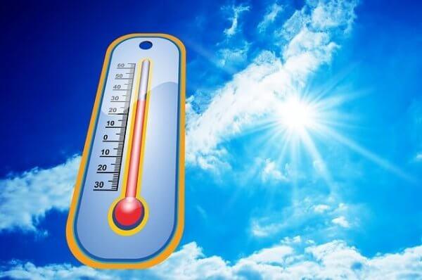 Im Osten gibt es bis zu 33 Grad.