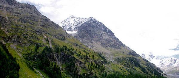 Neuschnee im Hochgebirge