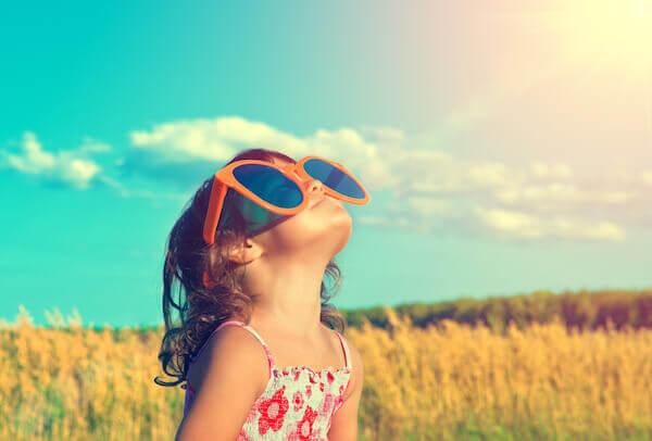 Die Sonne ist gut für unser Gemüt und unsere Stimmung. @shutterstock