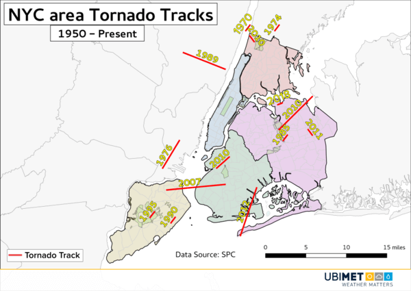 Tornados in New York
