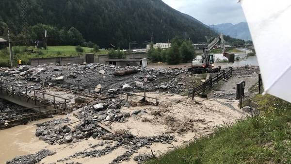 Unwetter in Tirol und Vorarlberg